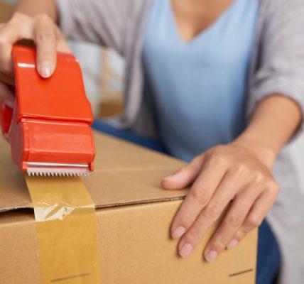 pakker til forsendelse