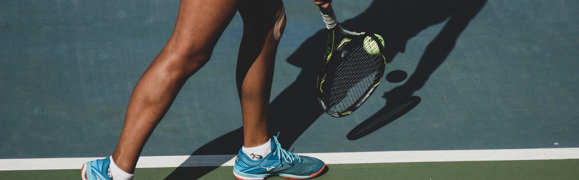 tennissko dame